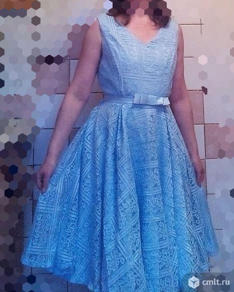 Кружевное платье. Фото 6.