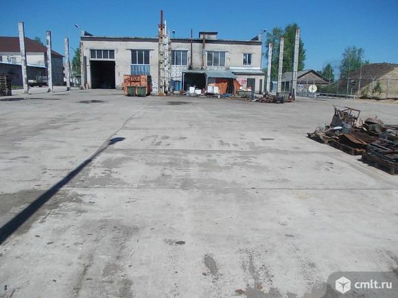 Открытая площадка под склад 4000 м2, Лодейное Поле