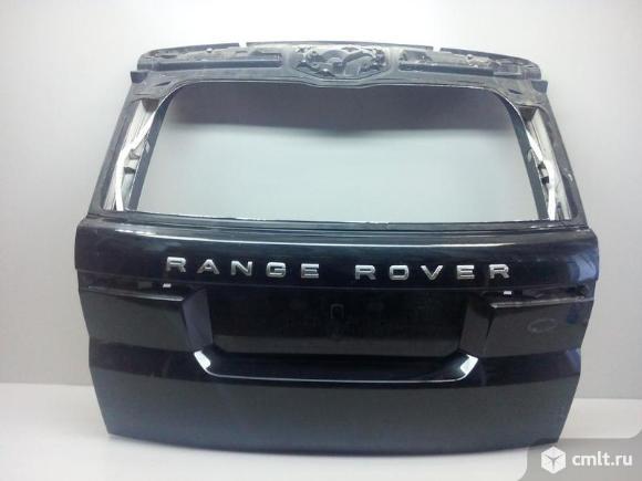 Крышка багажника  RANGE ROVER SPORT 13- б/у LR055919 4*. Фото 1.