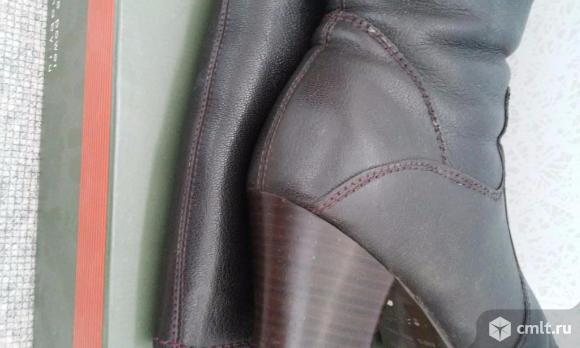 Кожаные зимние сапоги. Фото 4.