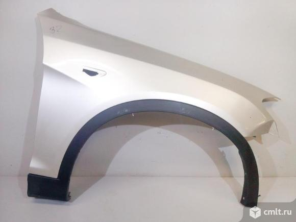 Крыло правое+накладка BMW X3 F25 10-14 б/у 41357267324 51777210082 3*. Фото 1.