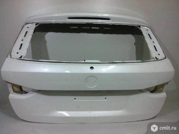 Крышка багажника BMW E84 X1 09- б/у 41002993152 4*. Фото 1.