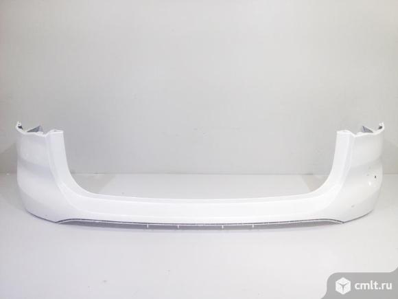 Бампер задний верхняя часть BMW X1 E84 09-12 б/у 51122993568 3*. Фото 1.