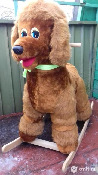 Продаю детскую качалку -собака. Фото 1.