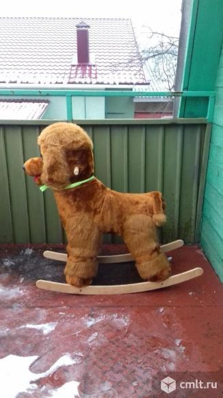 Продаю детскую качалку -собака. Фото 2.