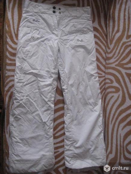 Штаны теплые белые