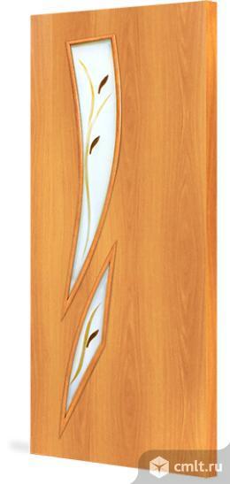 Двери 80х200 см межкомнатные, беленые, искусственный шпон