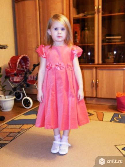 Платье на утренник 3-5 лет