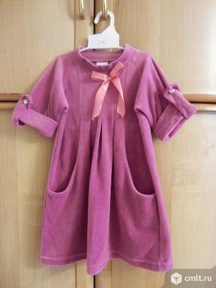 Платье р.110-116 на 4-6 лет