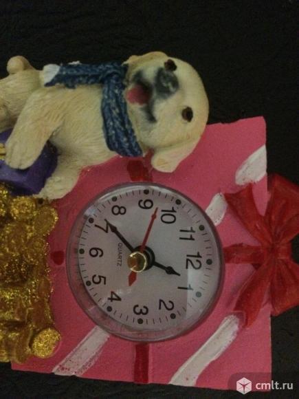 Часы настольные Год Собаки