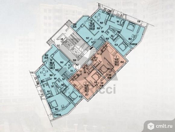 Продается 1-комн. квартира 56 м2, м. Шаболовская