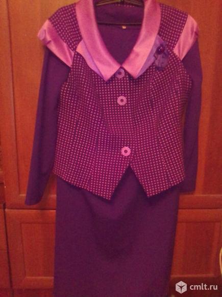Продам платье с жилетом. Фото 1.