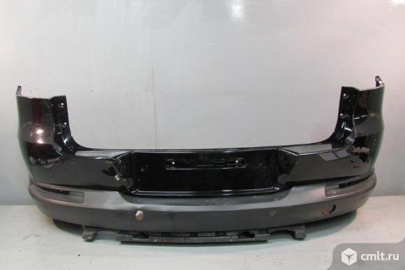 Бампер задний под паркт VW TIGUAN 11-15  5NU807421GRU б/у 3*. Фото 1.