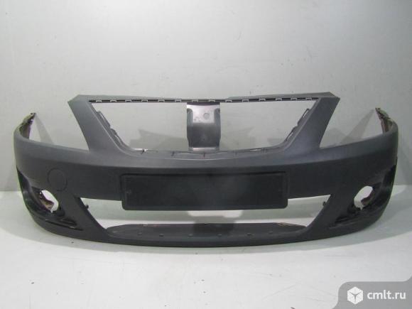 Бампер передний LADA LARGUS 12- б/у  8450000244 4*. Фото 1.