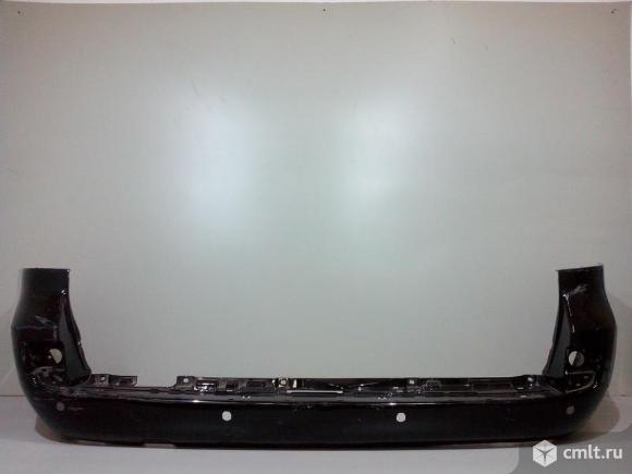 Бампер задний под парктр TOYOTA LAND CRUISER 200 / LEXUS LX570 08-11 б/у 5215960956 3*. Фото 1.