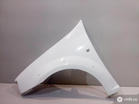 Крыло левое LADA LARGUS CROSS 12- б/у  8450009386 3*. Фото 1.