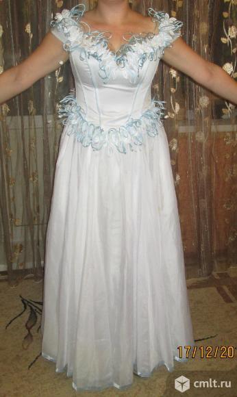 Выпускное, можно свадебное платье. Фото 2.
