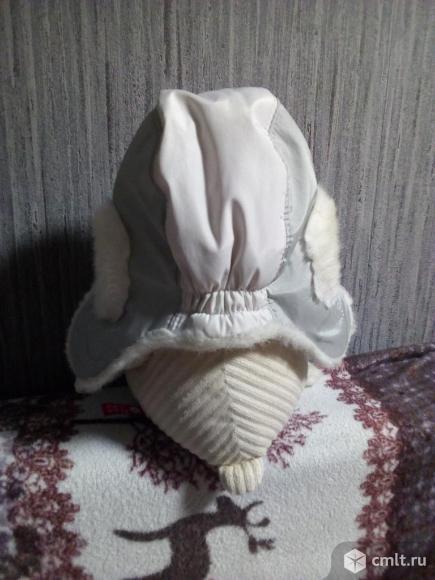 Шапка ушанка,детская на 5-7лет