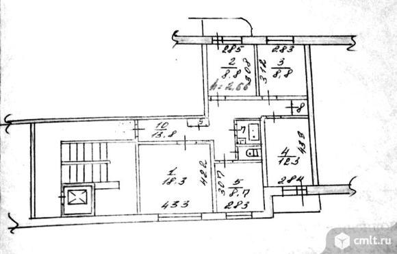 Продается 4-комн. квартира 76 м2, м.Площадь Маркса