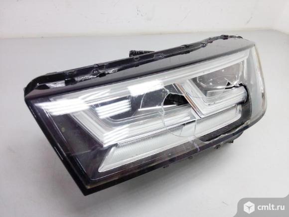Фара левая LED AUDI Q5 17- б/у 80A941773 2* на запчасти. Фото 1.