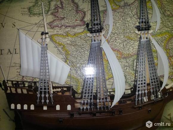 Модель корабля. Фото 1.