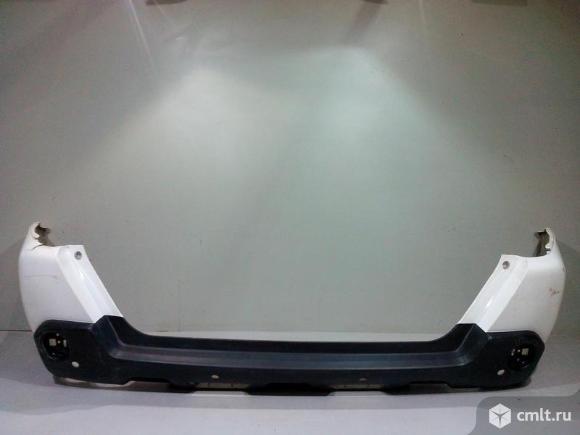 Бампер задний под парктр. NISSAN X-TRAIL T31 07-14 б/у 85022JU14H 85022JG04H 3*. Фото 1.
