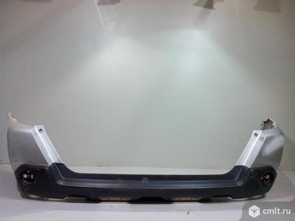 Бампер задний NISSAN X-TRAIL T31 07-14 б/у 85022JU14H 3*. Фото 1.