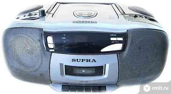 Радиоприемник Sony CFS-200L, SUPRA CDR 25BS  торг