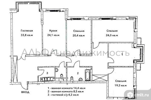 Продается 5-комн. квартира 186 кв.м, м.Университет