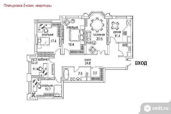 Продается 5-комн. квартира 135.1 кв.м, м.Щукинская
