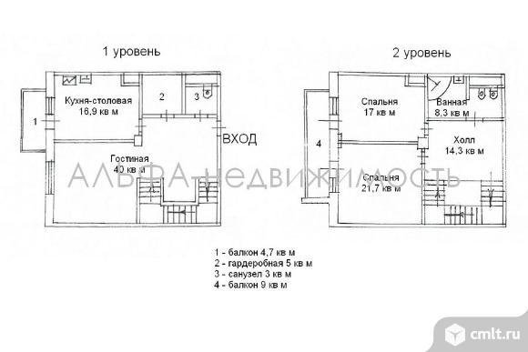 Продается 3-комн. квартира 138 м2, м.Раменки