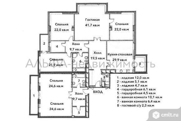 Продается 6-комн. квартира 268 м2, м.Кунцевская