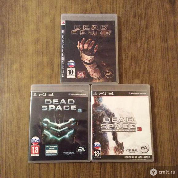 Dead Space коллекция ps 3 (все номерные части)