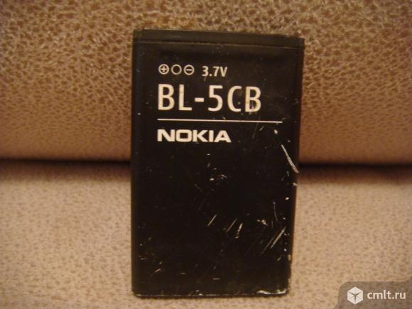 Аккумулятор Nokia BL-5CB. Фото 1.