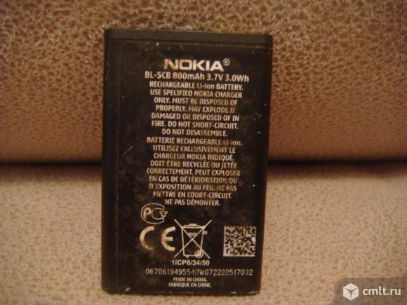 Аккумулятор Nokia BL-5CB. Фото 2.