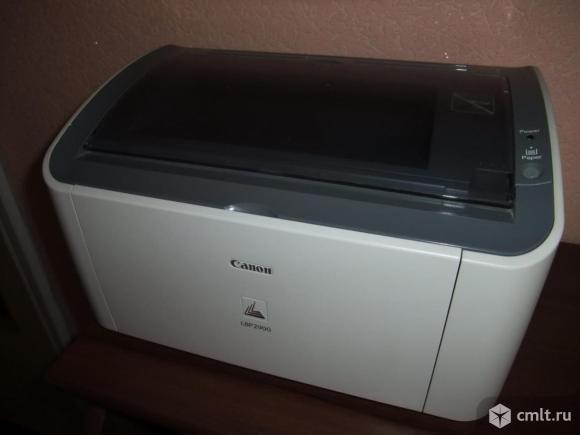 Принтер лазерный Canon 2900 (как HP 1010)  домашний. Фото 1.