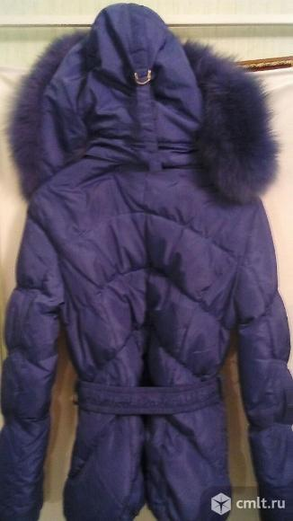 Куртка-пуховик девичья
