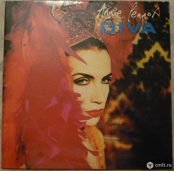 """Грампластинка (винил). Гигант [12"""" LP]. Annie Lennox (Eurythmics). Diva. 1992. Узбекистан для России. Фото 1."""