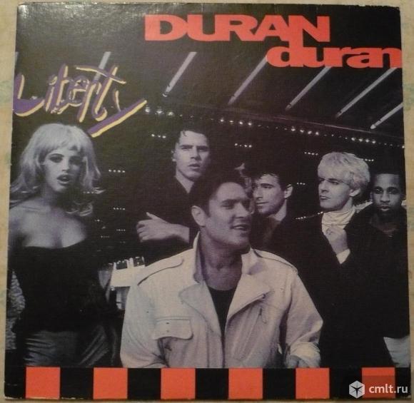 "Грампластинка (винил). Гигант [12"" LP]. Duran Duran. Liberty. 1990. Ташкентский завод, 1992.. Фото 1."
