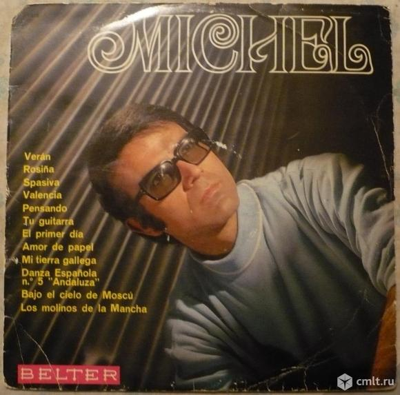 "Грампластинка (винил). Гигант [12"" LP]. Michel (Spain). Michel. 1969. Belter. 22.272. Spain.. Фото 1."