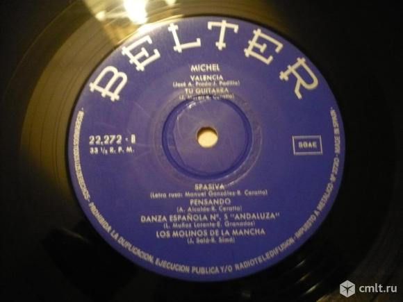 "Грампластинка (винил). Гигант [12"" LP]. Michel (Spain). Michel. 1969. Belter. 22.272. Spain.. Фото 8."