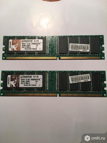 Оперативная память DIMM DDR 256 МБ. Фото 1.