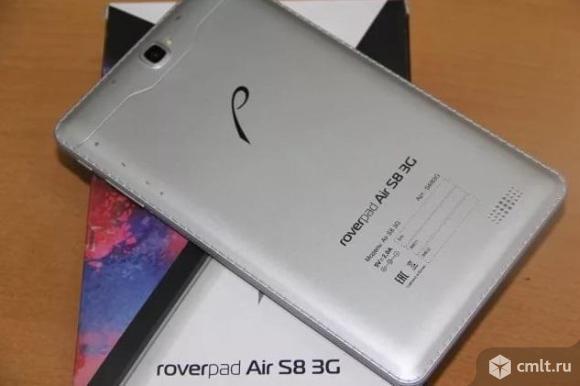 """С пленкой 8"""" Планшет RoverPad Air S8 8 Гб 3G серебристый"""