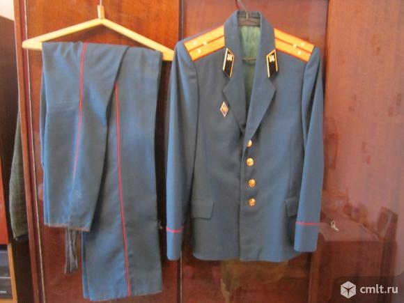 Форма парадная офицера Советской армии (китель, галифе. Фото 1.