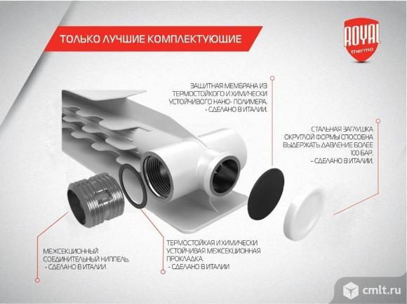 Радиаторы Royal Thermo Revolution Bimetall 500