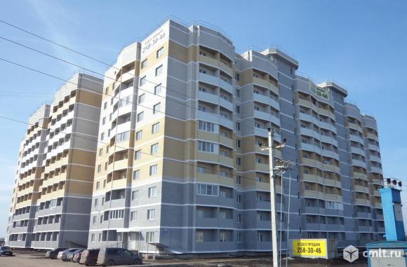 1-комнатная квартира 33,5 кв.м