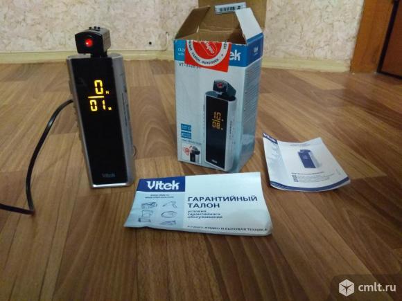 Радиобудильник Vitek VT-3526 серебристый