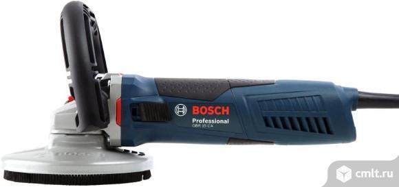 Шлифмашина bosch GBR 15 CA Professional по бетону. Фото 1.