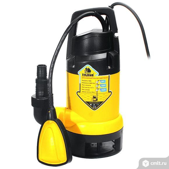 Насос дренажный для грязной воды Хозяин НДП-750-35