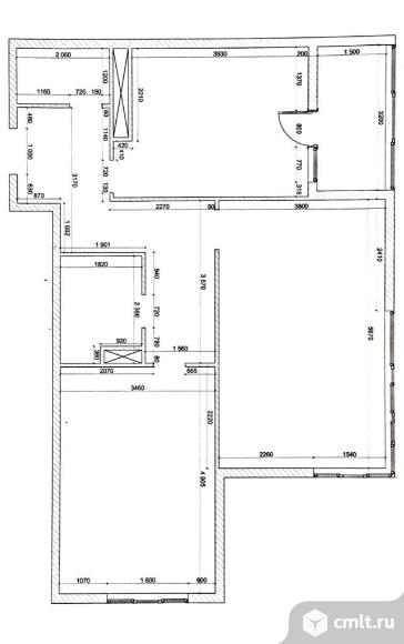 Продается 2-комн. квартира 72 кв.м, м.Черная речка